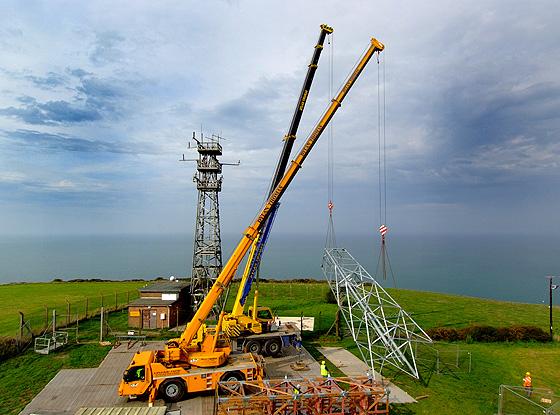 Crane hire example